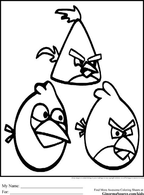 Malvorlagen Angry Birds Einzigartig Kids Coloring In Pages Angry Birds Great for Parties J7do Stock