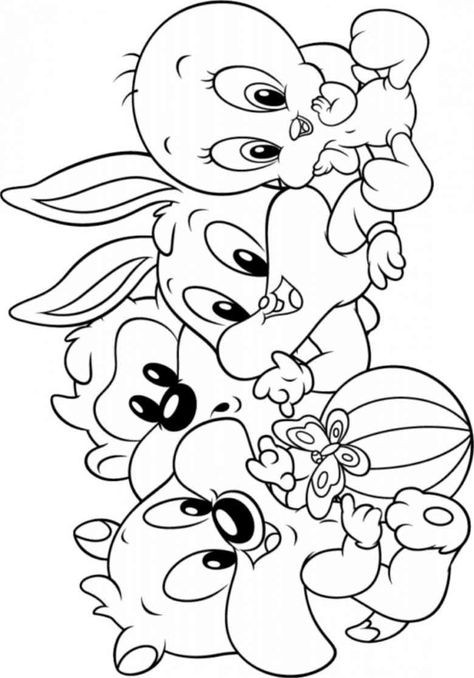 Malvorlagen Baby Looney Tunes Einzigartig Download or Print This Amazing Coloring Page Chip and Dale Gdd0 Sammlung