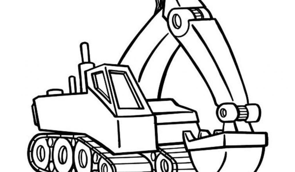 Malvorlagen Bagger Neu Kostenlose Malvorlage Transportmittel Bagger Auf Der 87dx Das Bild
