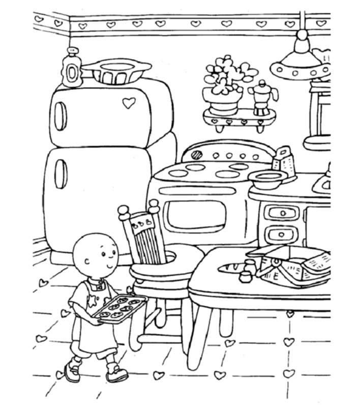Malvorlagen Caillou Genial Abcpics – Page 8 J7do Sammlung