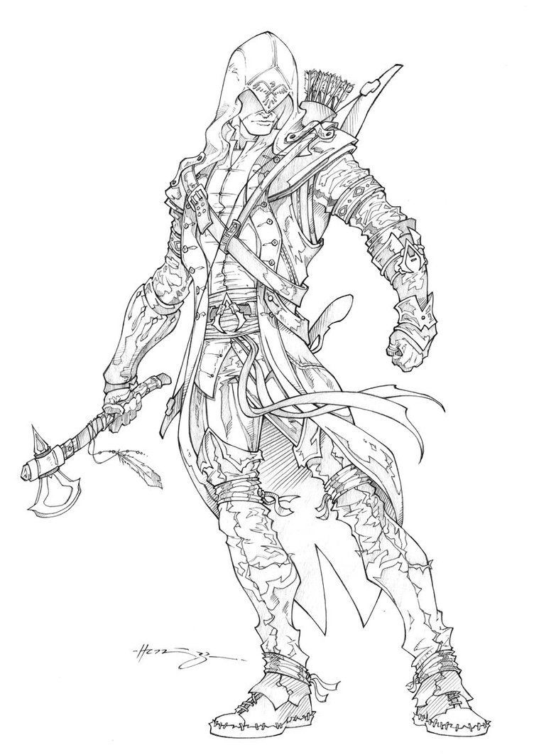 Malvorlagen Cowboy Das Beste Von assassin S Creed Printable Coloring Pages Wddj Fotografieren