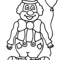 Malvorlagen Cowboy Frisch Malvorlage Clown Einfach Gdd0 Bild