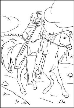 Malvorlagen Cowboy Genial Malvorlage Indianer Pferd Gdd0 Fotografieren