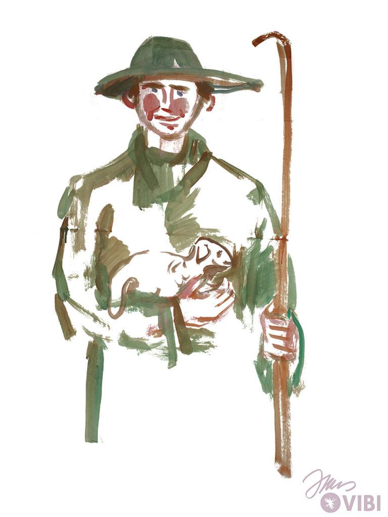 Malvorlagen Cowboy Neu Jesus Der Gute Hirte Ausmalbild Whdr Bilder