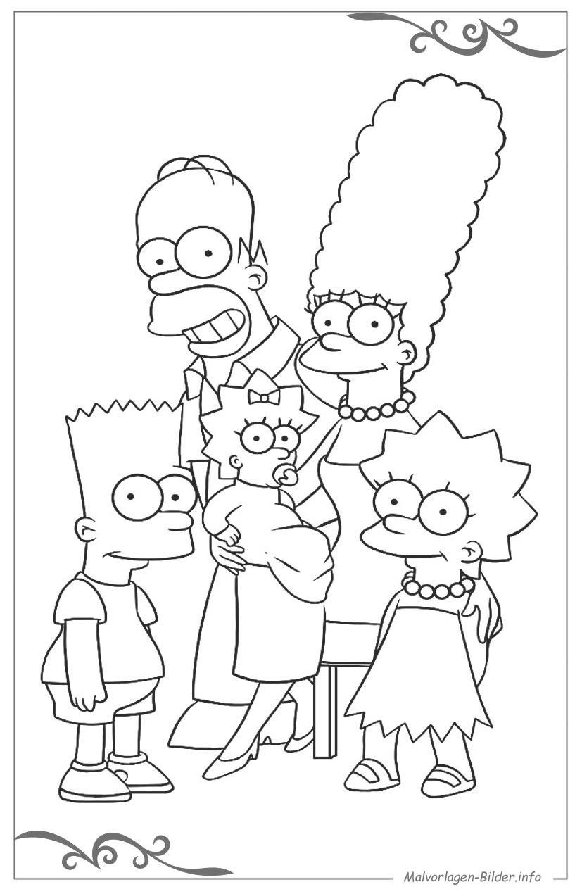 Malvorlagen Die Simpsons Das Beste Von Einzigartig Ausmalbilder Zum Ausdrucken Simpsons Bqdd Das Bild