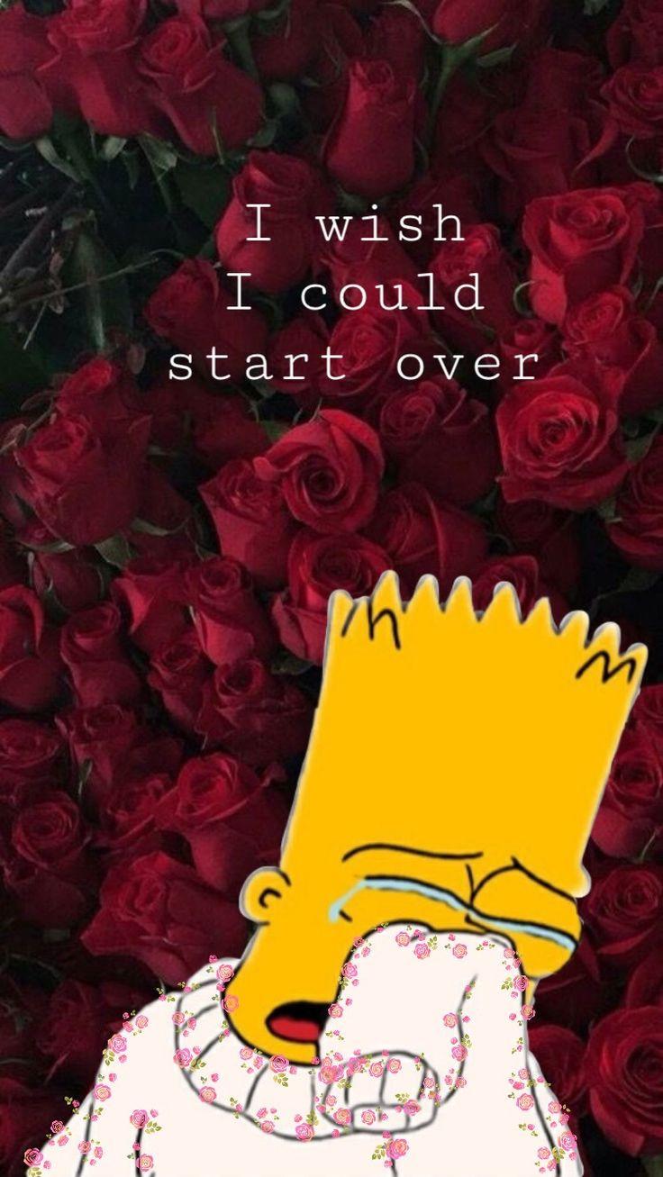 Malvorlagen Die Simpsons Das Beste Von Traurige Bart Simpson Tapete Tumblr Bilder Des 0gdr Das Bild