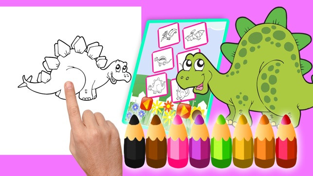 Malvorlagen Dinosaurier Inspirierend Malbuch Dinosaurier Spiel Ausmalbilder Für Kinder Im App Store Tqd3 Sammlung
