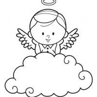 Malvorlagen Engel Inspirierend Teufel Und Engel Auf Wolke Malvorlage Jxdu Das Bild