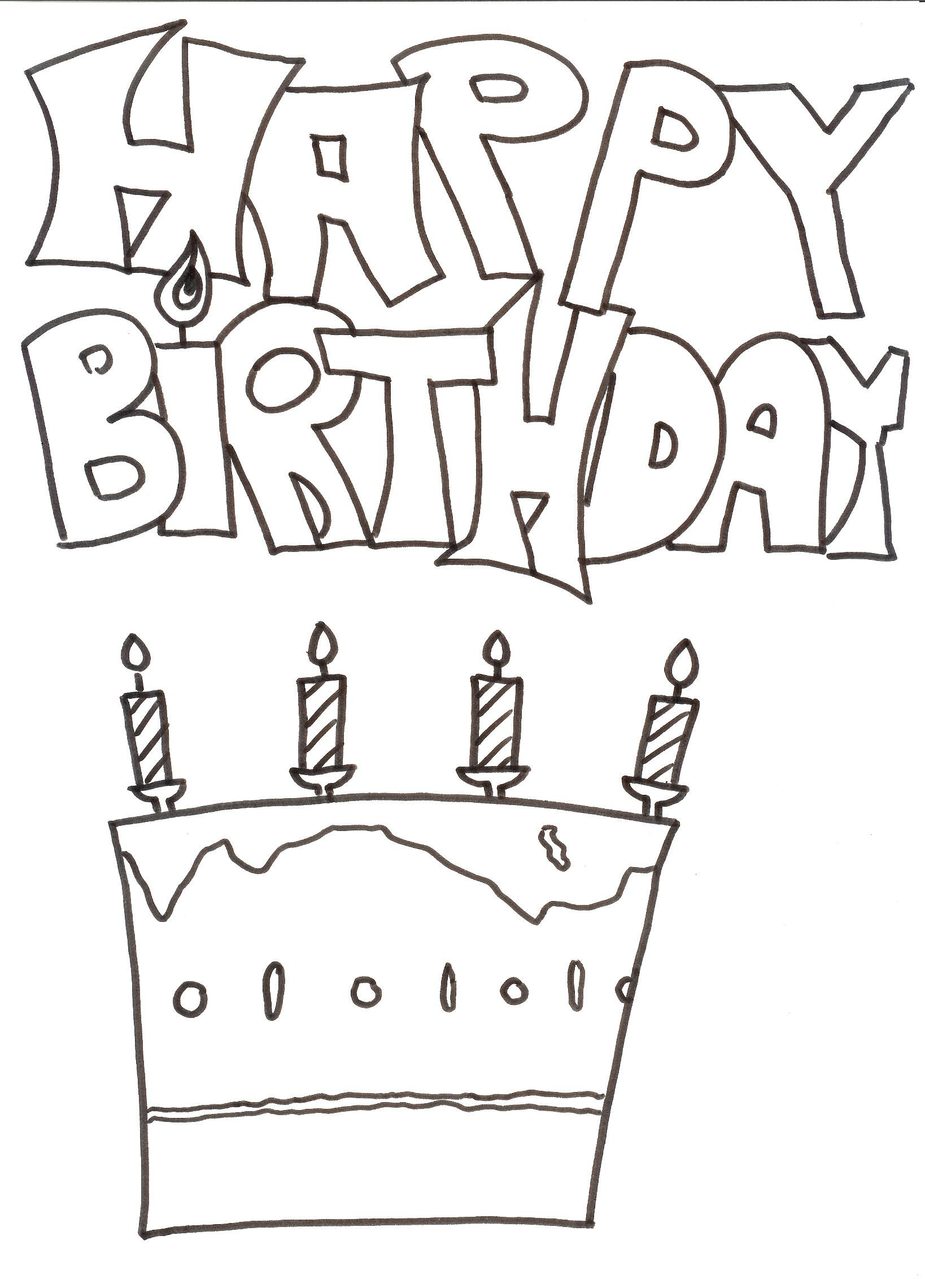 Malvorlagen Geburtstag Frisch Malvorlagen Geburtstag 47 3ldq Fotos
