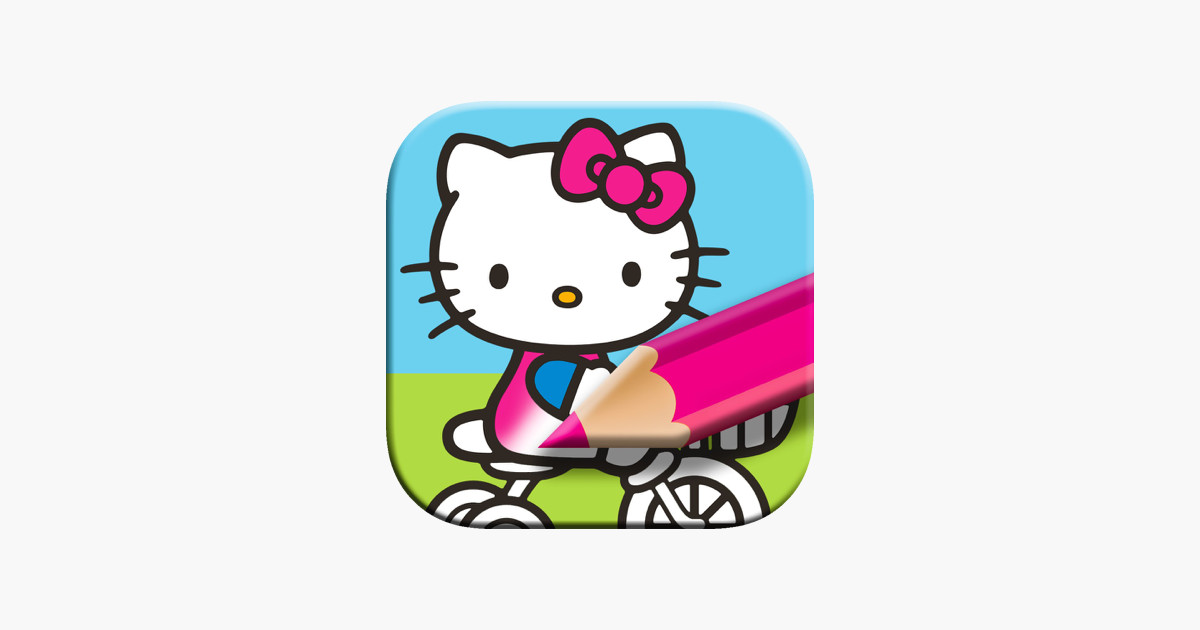 Malvorlagen Hello Kitty Frisch Hello Kitty Malbuch Für Kinder Im App Store X8d1 Fotos