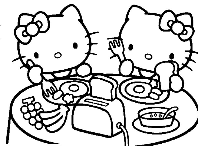 Malvorlagen Hello Kitty Inspirierend 10 Best Hello Kitty Ausmalbilder Tldn Bild
