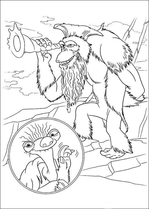Malvorlagen Ice Age Inspirierend Ice Age M¥larbilder För Barn Teckningar Online Till Skriv Gdd0 Galerie
