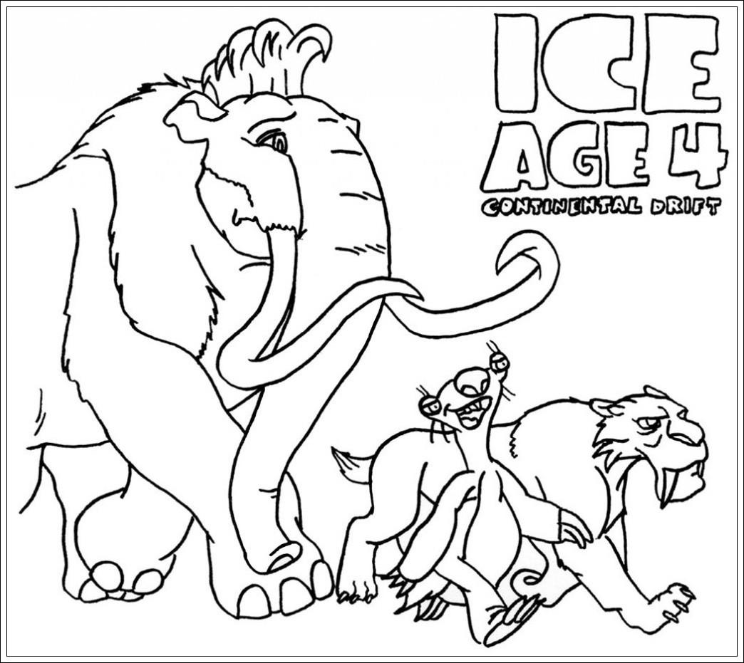 Malvorlagen Ice Age Neu √ Malvorlagen Ice Age Kostenlos Zwdg Stock