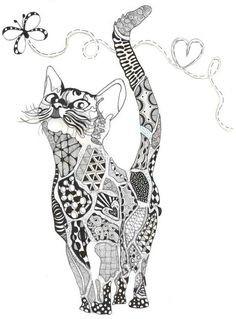 Malvorlagen Katzen Genial Die 23 Besten Bilder Von Malvorlage Katze In 2019 Etdg Bild