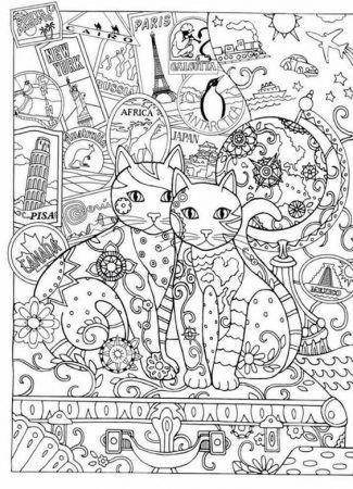 Malvorlagen Katzen Neu Pin Auf Malvorlagen Etdg Galerie