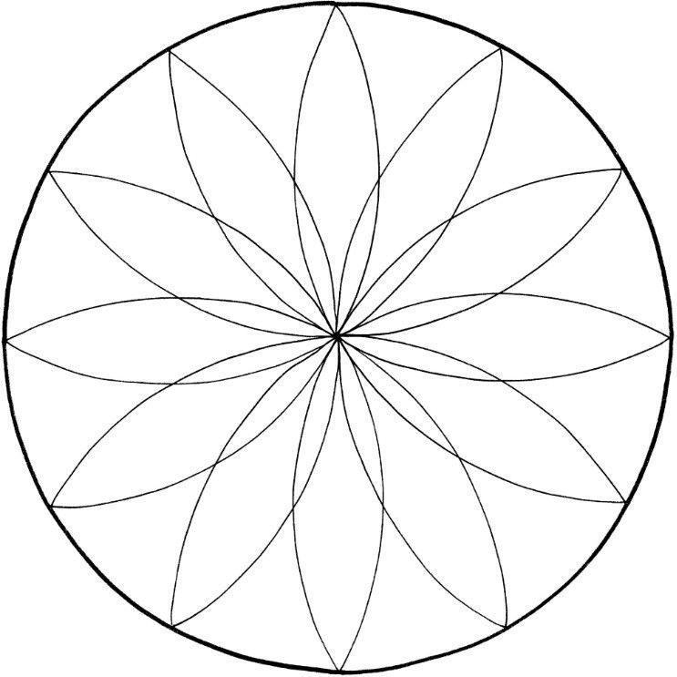 Malvorlagen Mandala Neu Mandalas Zum Ausdrucken tolle Blumen Mandala Vorlage Zum 0gdr Bild