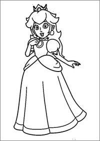 Malvorlagen Mario Das Beste Von √ Ausmalbild Prinzessin Super Mario S5d8 Bild