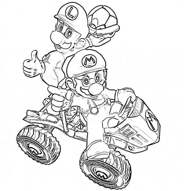 Malvorlagen Mario Inspirierend Malvorlagen Mario Kart 7 3id6 Bild