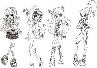 Malvorlagen Monster High Das Beste Von List Of attractive Monstera High Characters Image Ideas and Q0d4 Stock