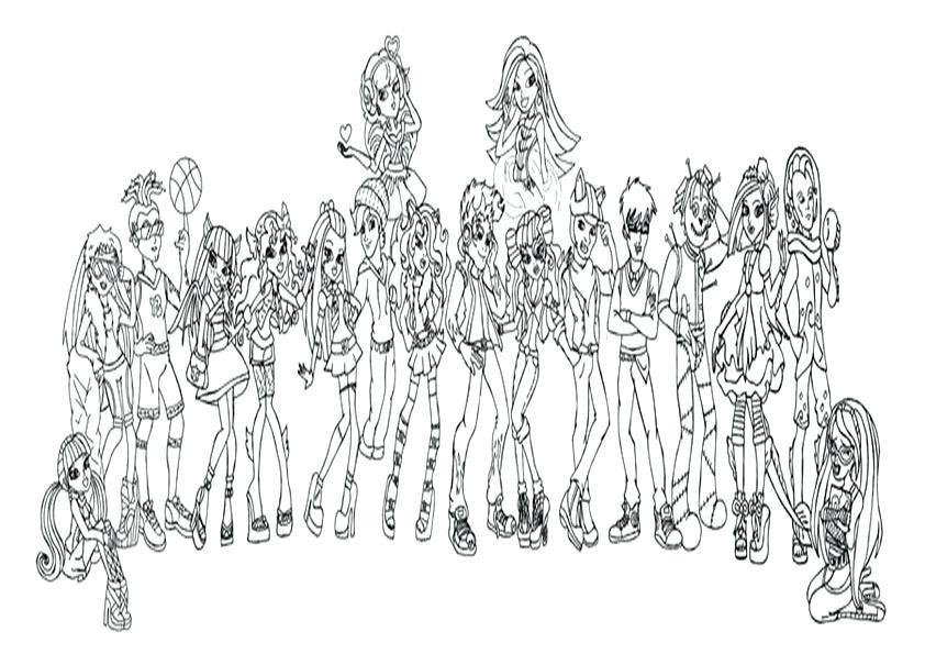 Malvorlagen Monster High Einzigartig Ausmalbilder Disney Die Monster Ag Uni Ausmalbilder Y7du Das Bild