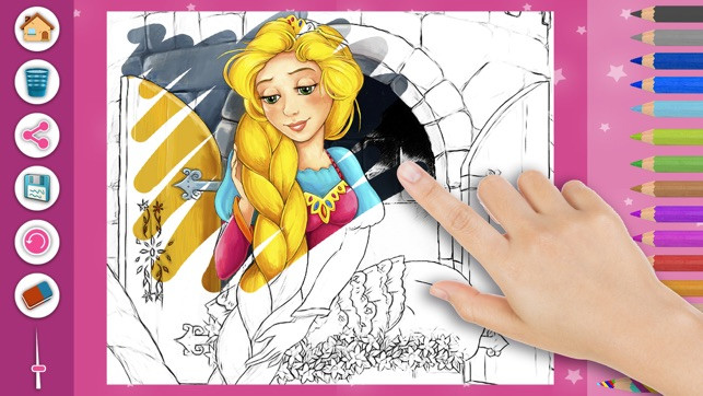 Malvorlagen Rapunzel Neu Prinzessin Rapunzel Magic Kids Färbung Seiten Im App Store S5d8 Sammlung